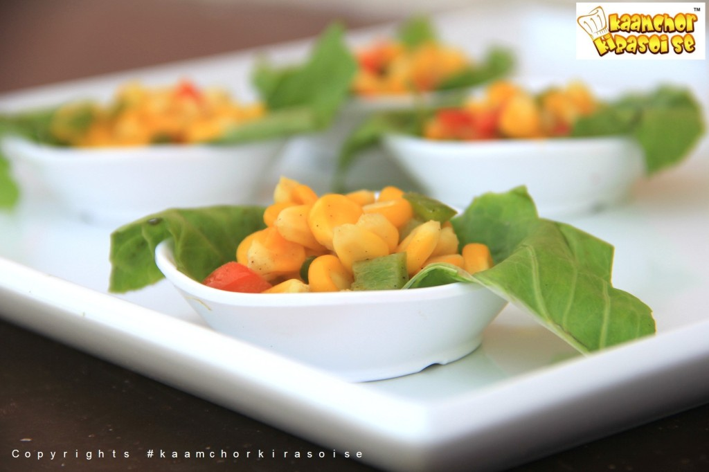 KKRS_Jain Sweet Corn Chaat